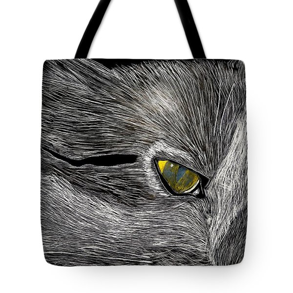 Prowl Tote Bag by Lisa Brandel