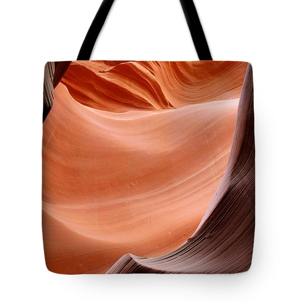 Psychedelic Art - Antelope Canyon Tote Bag by Christine Till