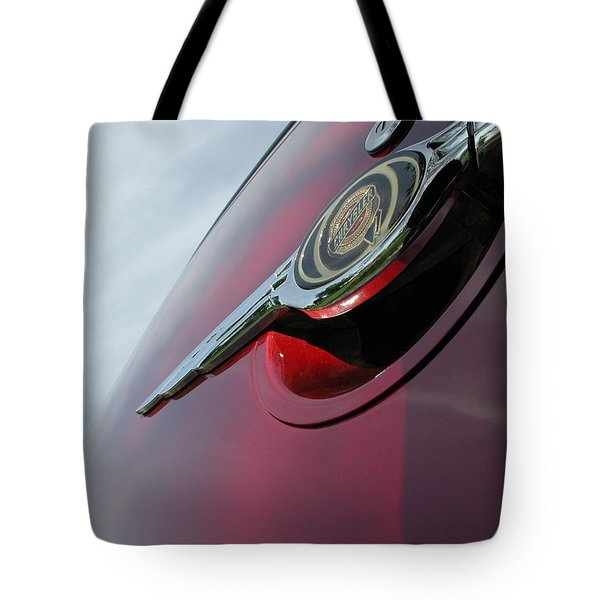 Pt Cruiser Emblem Tote Bag by Thomas Woolworth