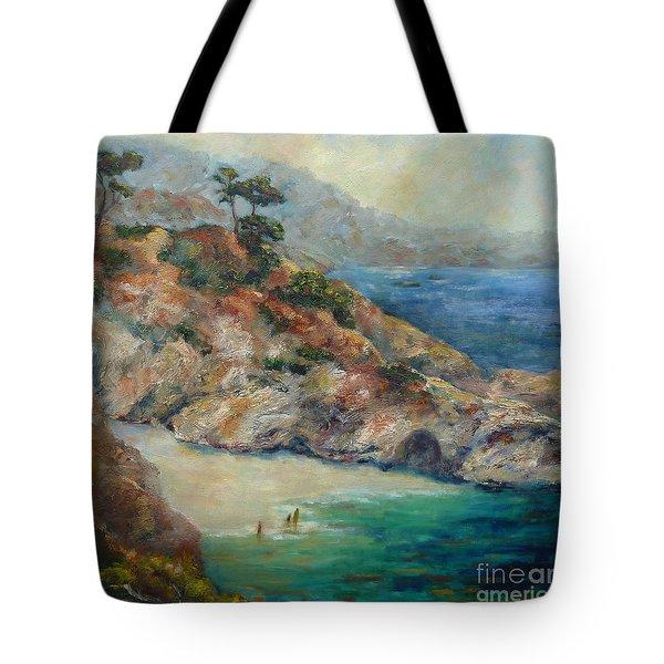 Pt Lobos View Tote Bag
