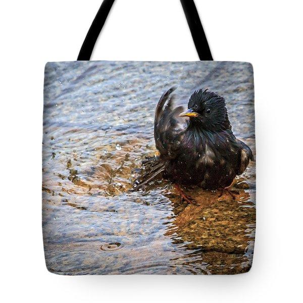 Public Bathing Tote Bag