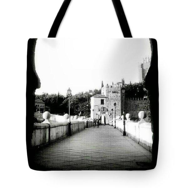 Puente De San Martin. Toledo Tote Bag