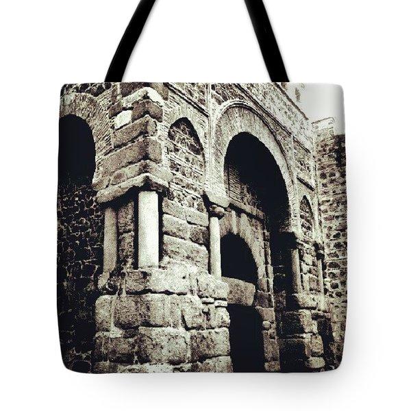 Puerta Tote Bag by Javier Moreno