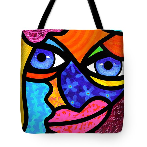 Pull Yourself Together Tote Bag by Steven Scott