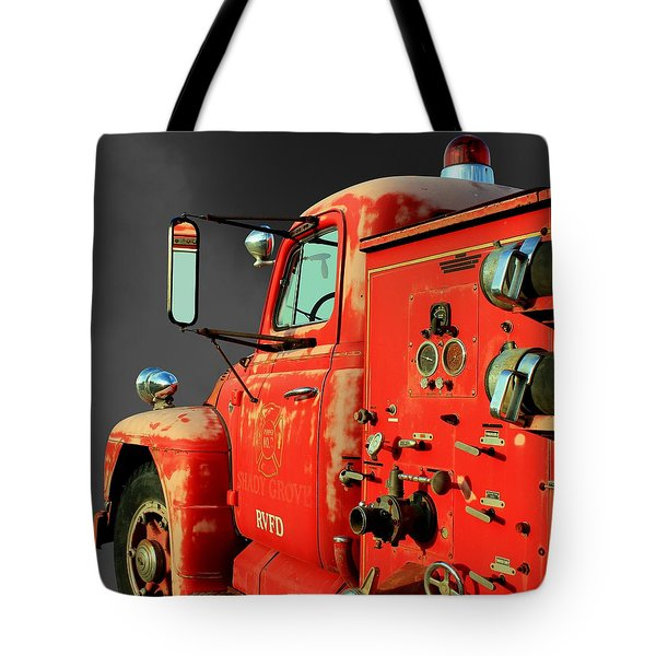 Pumper No. 2 - Retired Tote Bag by Betty Northcutt