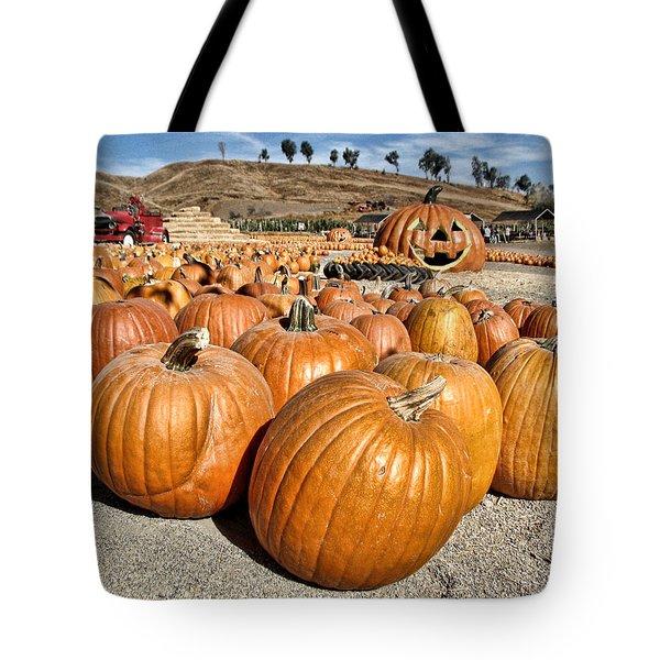 Pumpkin Patch 3 Tote Bag