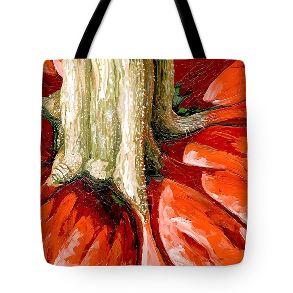 Pumpkin Stem Tote Bag