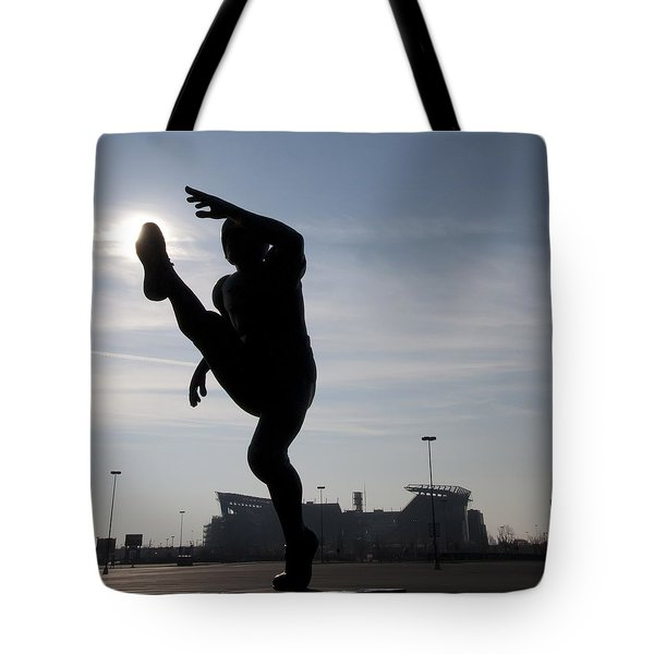 Punting The Sun - Philadelphia Tote Bag by Bill Cannon