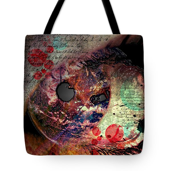 Pupil Of Pleasures  Tote Bag by Empty Wall