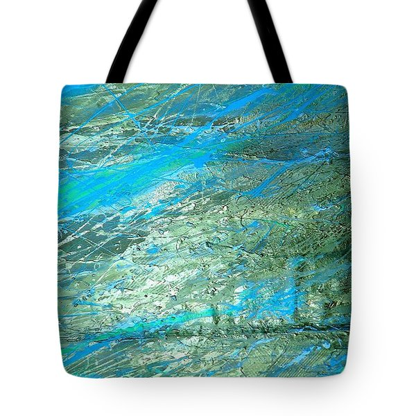 Pure Gold Vein Tote Bag