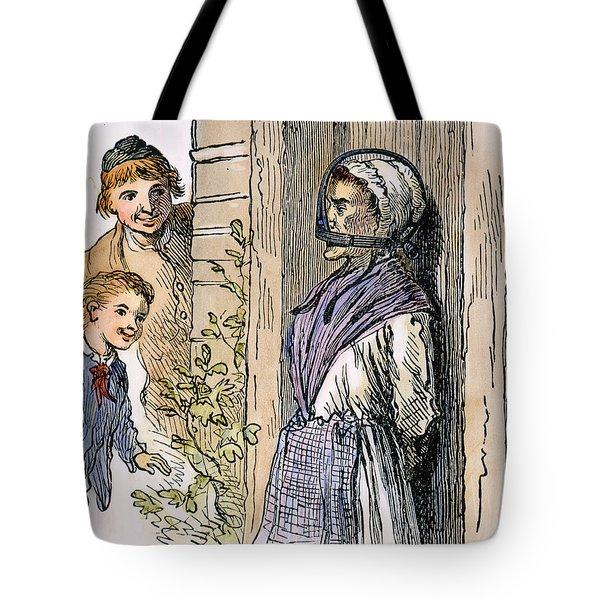 Puritan Punishment Tote Bag