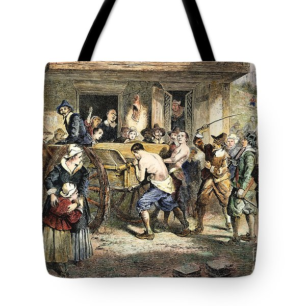 Puritans: Punishment, 1670s Tote Bag by Granger