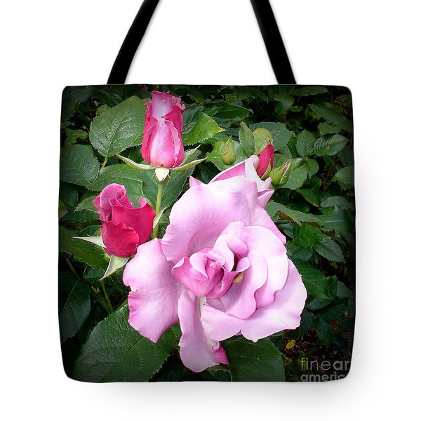Purple Beauty  2 Tote Bag by Tanya  Searcy