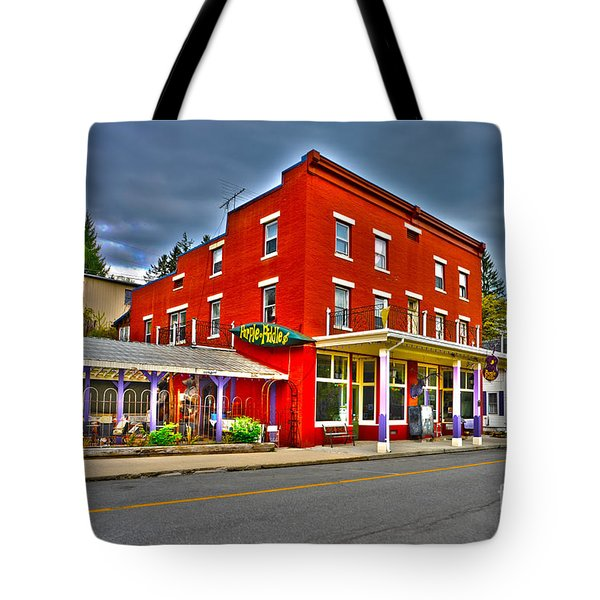 Purple Fiddle In Thomas Wv Tote Bag