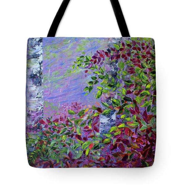Purple Haze Tote Bag by Joanne Smoley