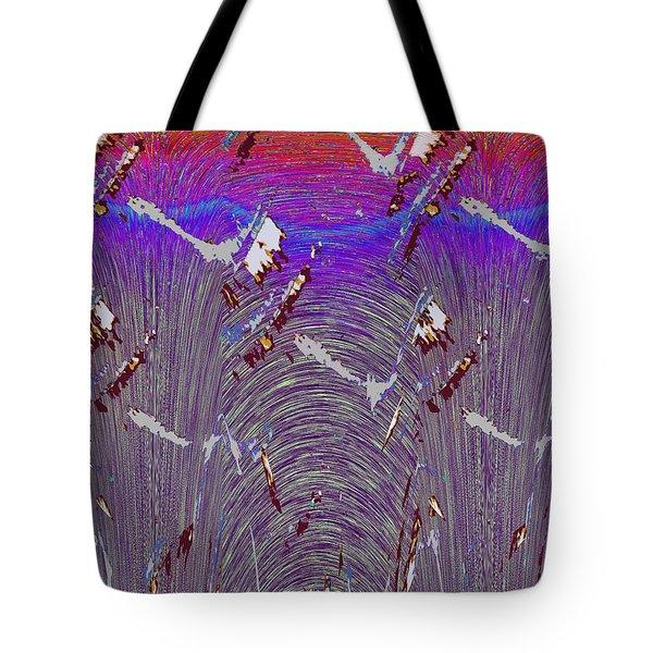 Purple Haze Tote Bag by Tim Allen