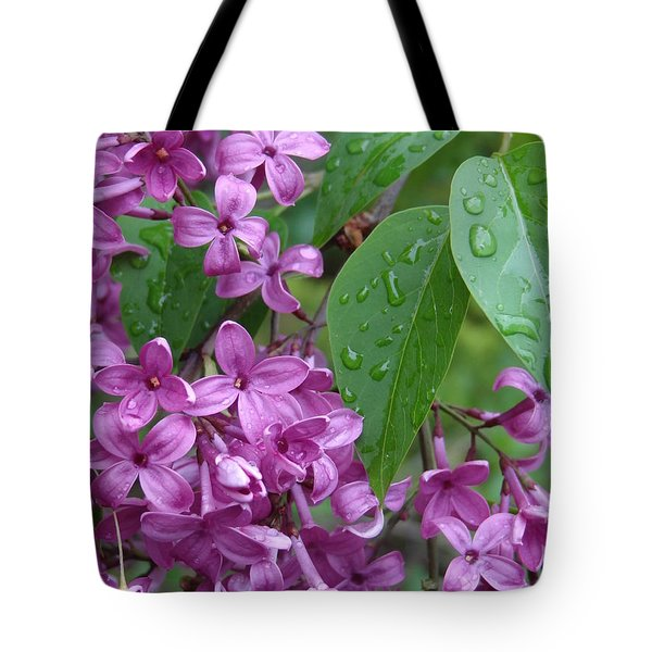 Purple Lilac Tote Bag