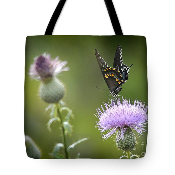 Tote Bag featuring the photograph Purple Majesty by Nava Thompson
