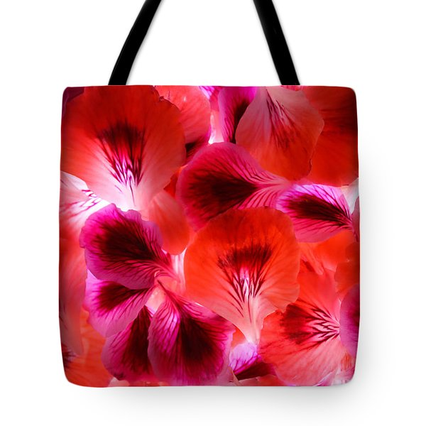 Purple Meditation Tote Bag