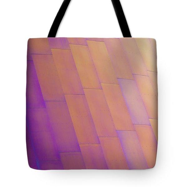 Purple Orange Two Tote Bag by Chris Dutton