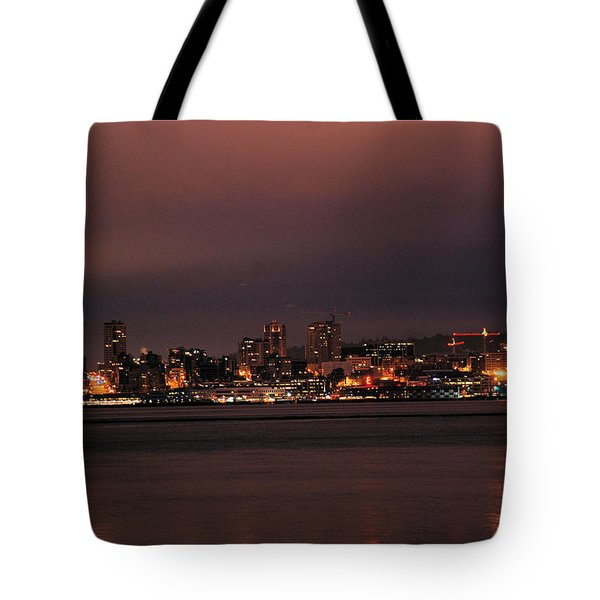 Purple Sky Morning Tote Bag