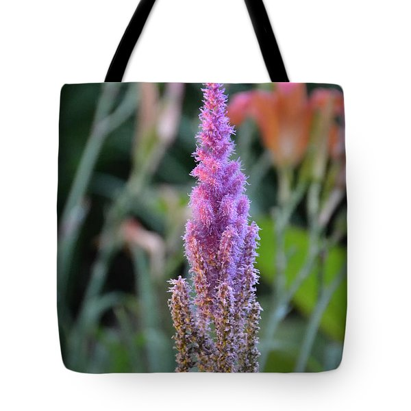 Purple Spear Tote Bag