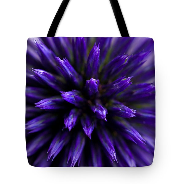 Purple Zoom Tote Bag by Trevor Chriss
