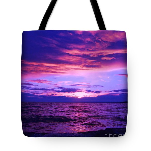 Purplosion Tote Bag