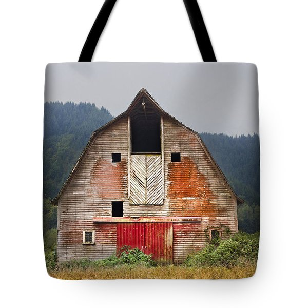 Put On A Happy Face Tote Bag by Debra and Dave Vanderlaan