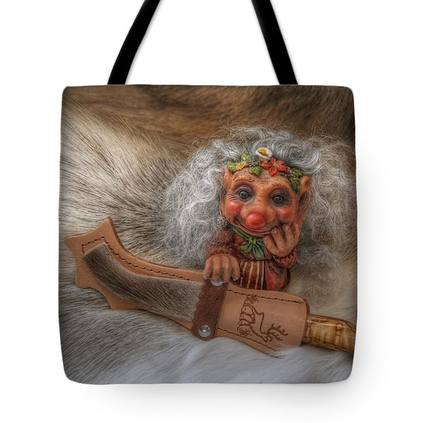 Puukko Troll Tote Bag