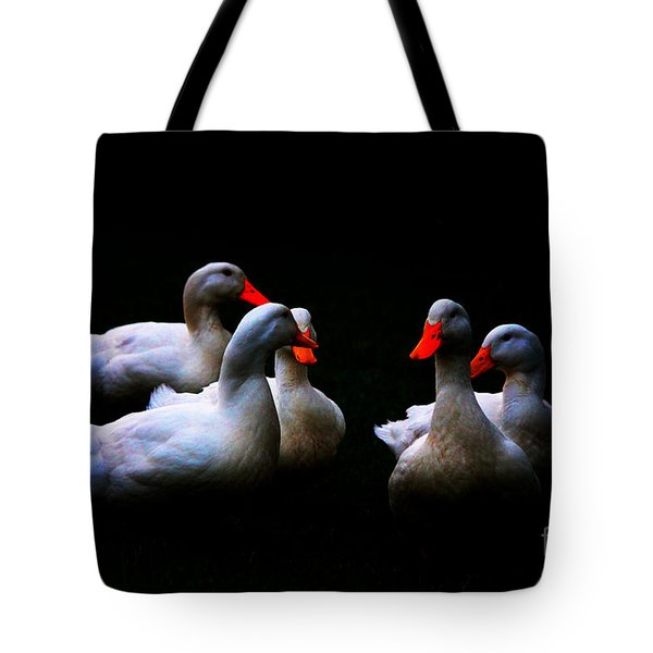 Quackery Quintet Tote Bag