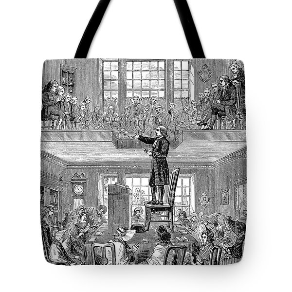 Quaker Meeting House Tote Bag by Granger