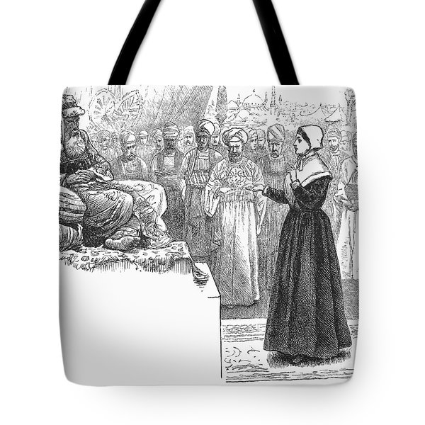 Quaker Missionary, 1658 Tote Bag by Granger