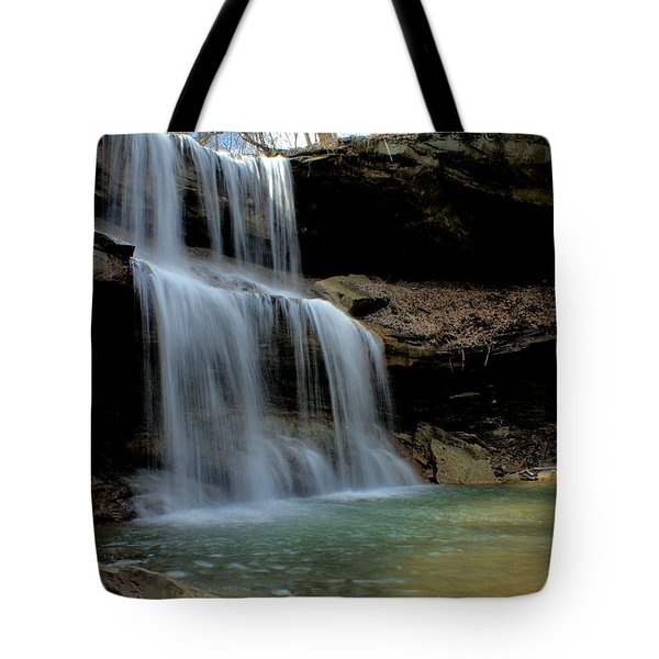 Quakertown Falls Tote Bag