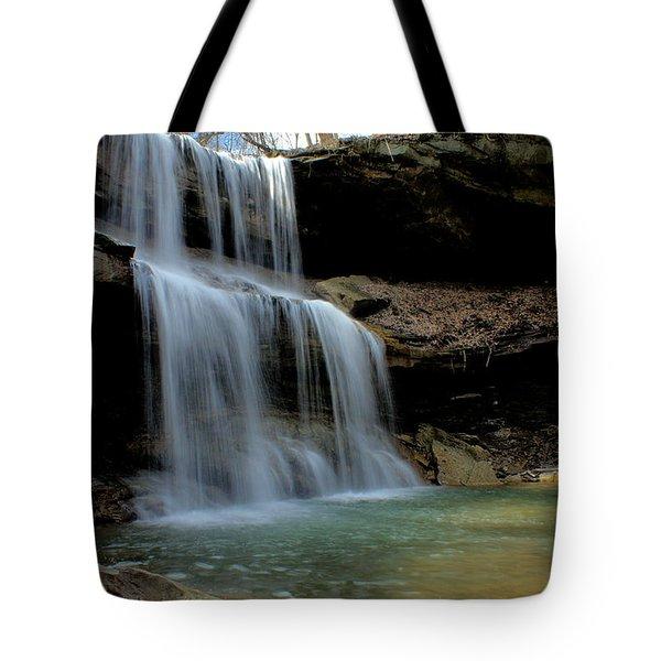 Quakertown Falls Tote Bag