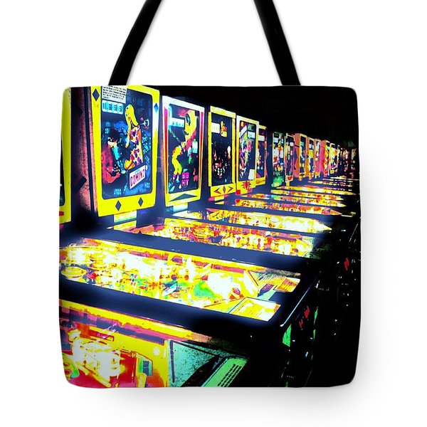 Quarters Needed Tote Bag by Benjamin Yeager