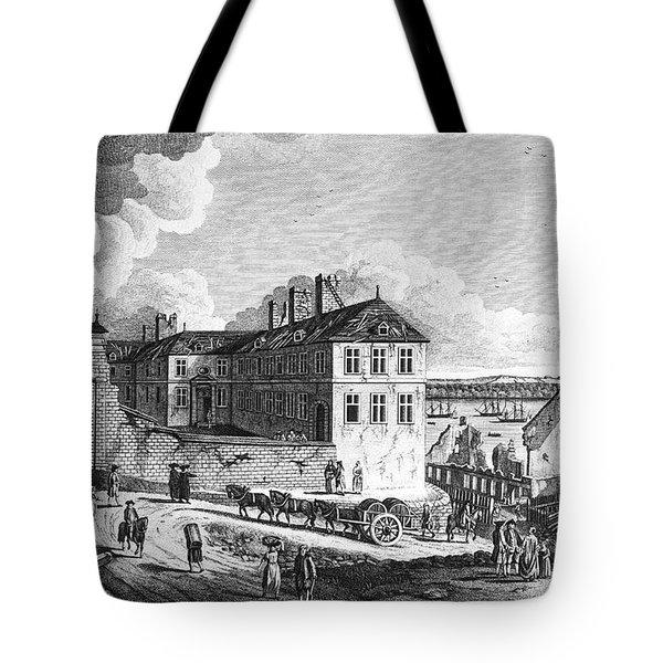 Quebec: Ruins, 1761 Tote Bag by Granger