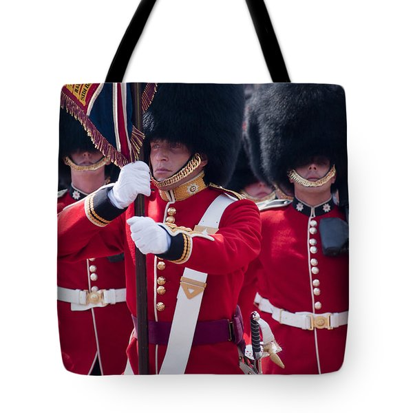 Queens Guards Tote Bag