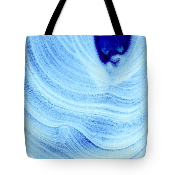 Query Blue Tote Bag by Jamie Lynn