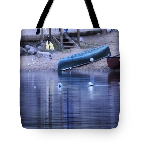 Quiet Canoes Tote Bag