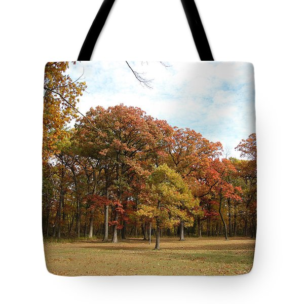 Quiet Forest 2 Tote Bag by Cedric Hampton