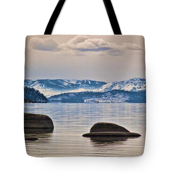 Quiet Lake Tahoe Tote Bag