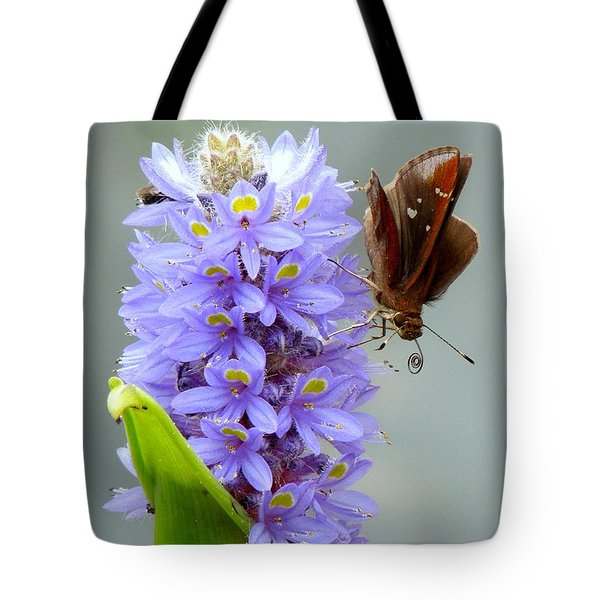 Quilling Butterfly Tote Bag by Renee Trenholm