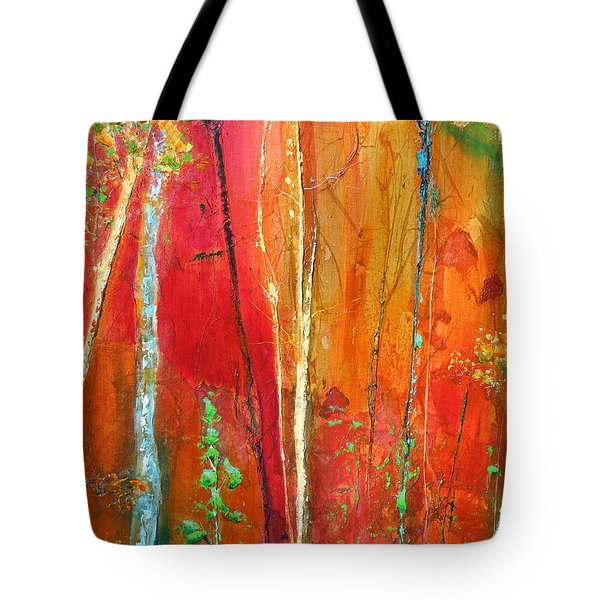Quinacridone Hollow  Tote Bag
