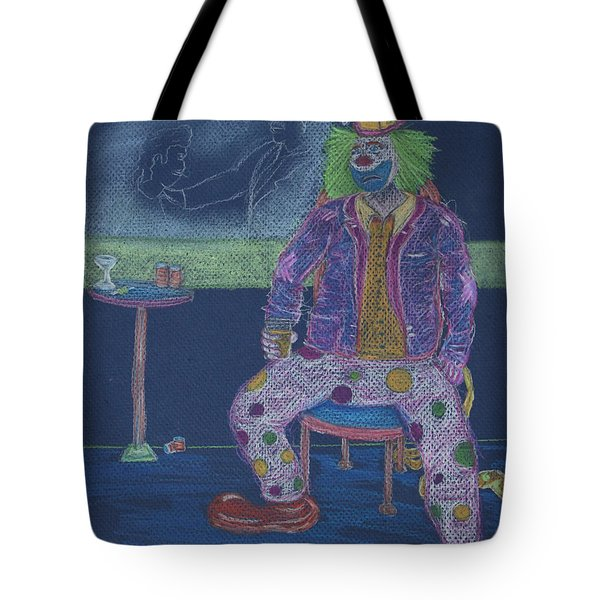 Quit Clowning Around Tote Bag by Michael Mooney