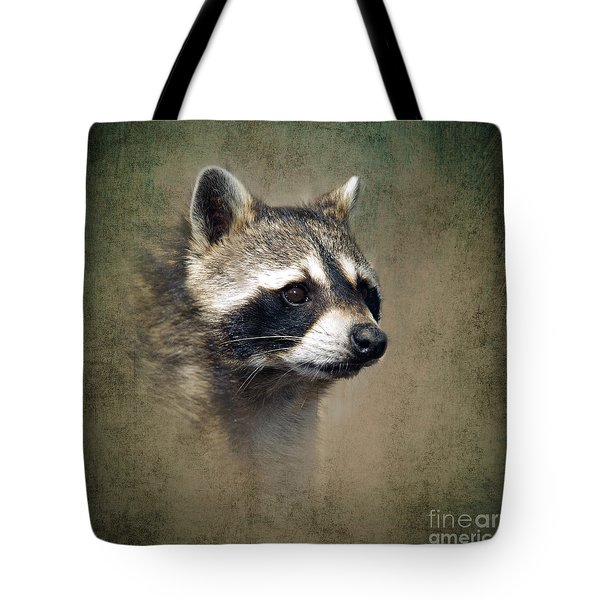 Raccoon 1 Tote Bag by Betty LaRue