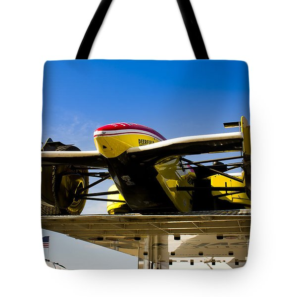 Racing Car Nose Tote Bag by Darcy Michaelchuk