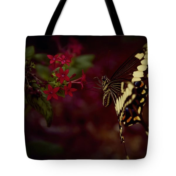 Radiant Swallowtail Tote Bag