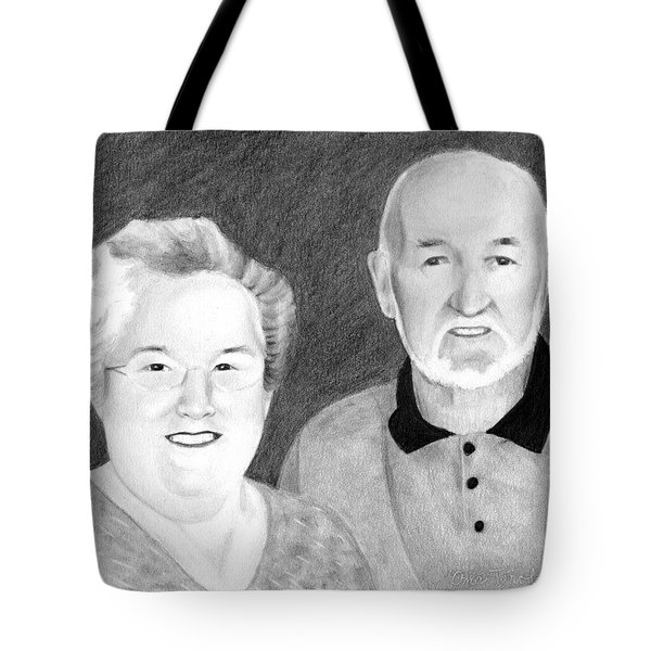 Raeleen And Jim Campbell Tote Bag