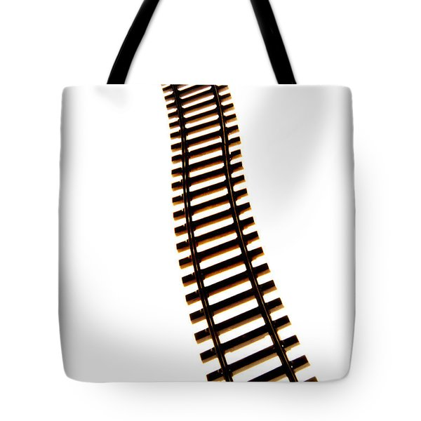 Railway Tracks Tote Bag